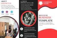 Free Tri-Fold Brochure Template – Download Free Tri-Fold within Adobe Tri Fold Brochure Template