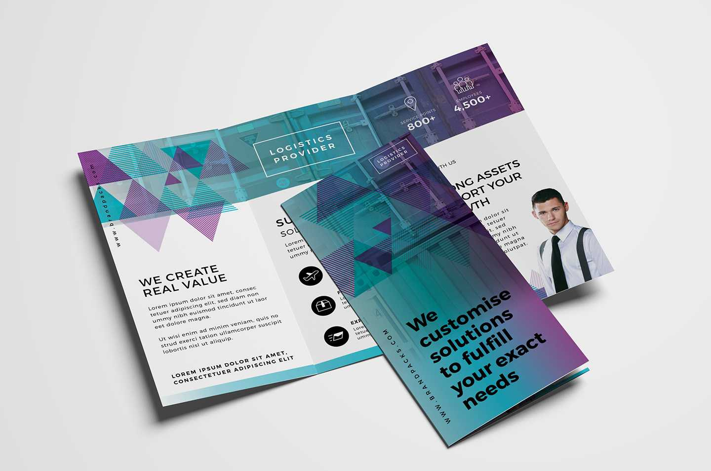 Free Trifold Brochure Template Vol.2 In Psd, Ai & Vector Within 2 Fold Brochure Template Free