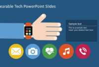 Free Wearable Technology Powerpoint Slides Pertaining To High Tech Powerpoint Template