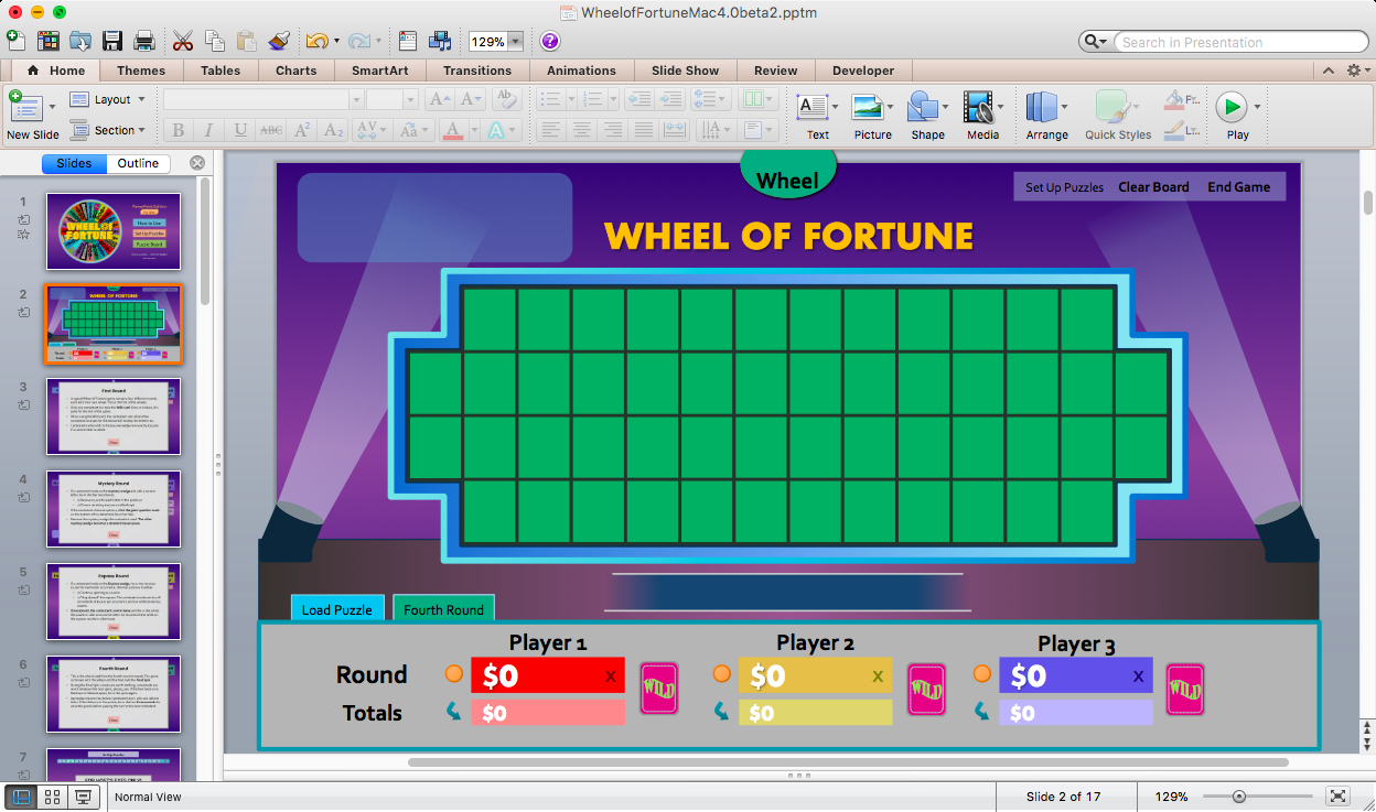 Free Wheel Of Fortune Powerpoint Game Template For Games pertaining to Wheel Of Fortune Powerpoint Template
