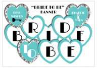 From Miss To Mrs Banner Template – Best Banner Design 2018 within Bridal Shower Banner Template
