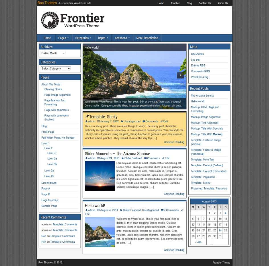Frontier Theme | Ronangelo pertaining to 3 Column Word Template
