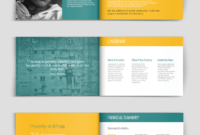 Fundraising & Charity Brochure Template | Brochure Template inside Ngo Brochure Templates
