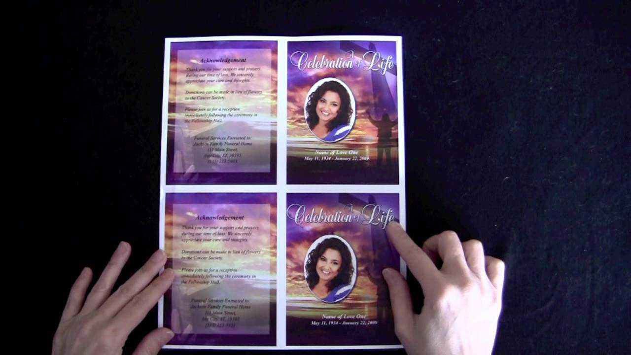 Funeral Memorial Cards With Regard To Memorial Cards For intended for Remembrance Cards Template Free