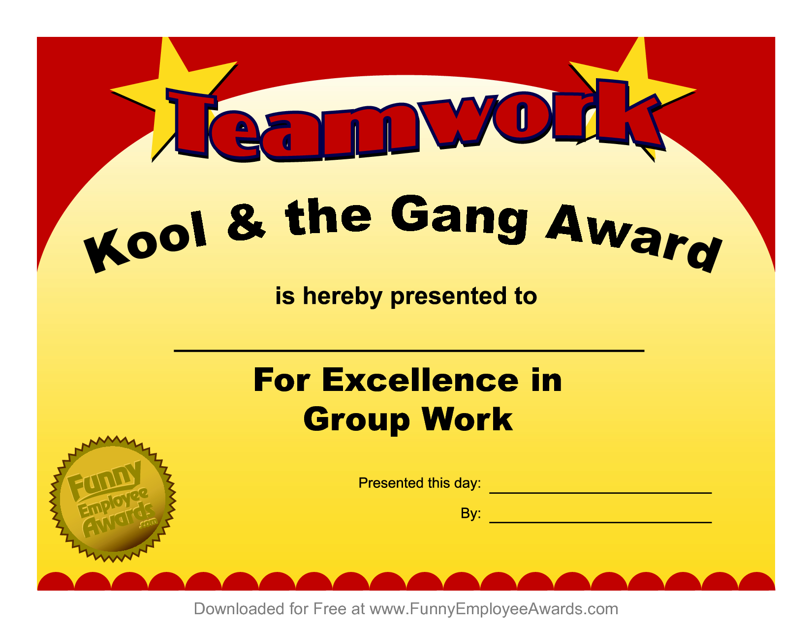 Funny Certificate Printable Templates Employee Award Free with regard to Free Funny Certificate Templates For Word