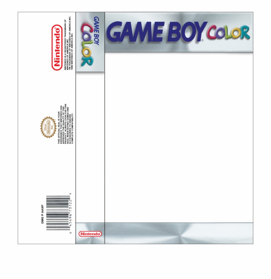 Gbc Insert Template - Gameboy Cassette Cover Template intended for Cassette J Card Template