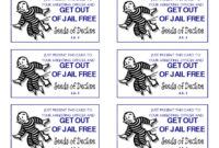 """Get Out Of Jail Free"""" Photographic Printdiabolical for Get Out Of Jail Free Card Template"""