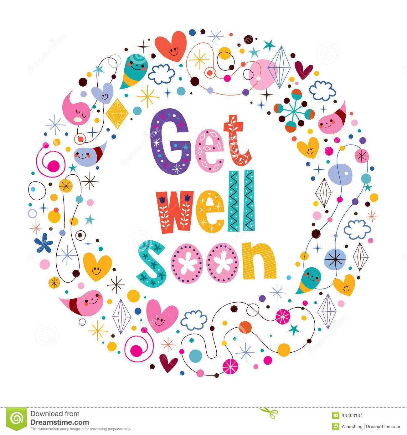 Get Well Soon | Images, Quotes, Photos, Pictures, Jokes For Get Well Card Template