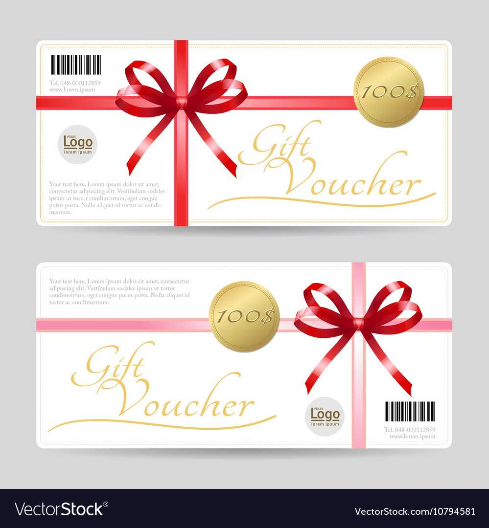 Gift Card Or Gift Voucher Template within Gift Card Template Illustrator