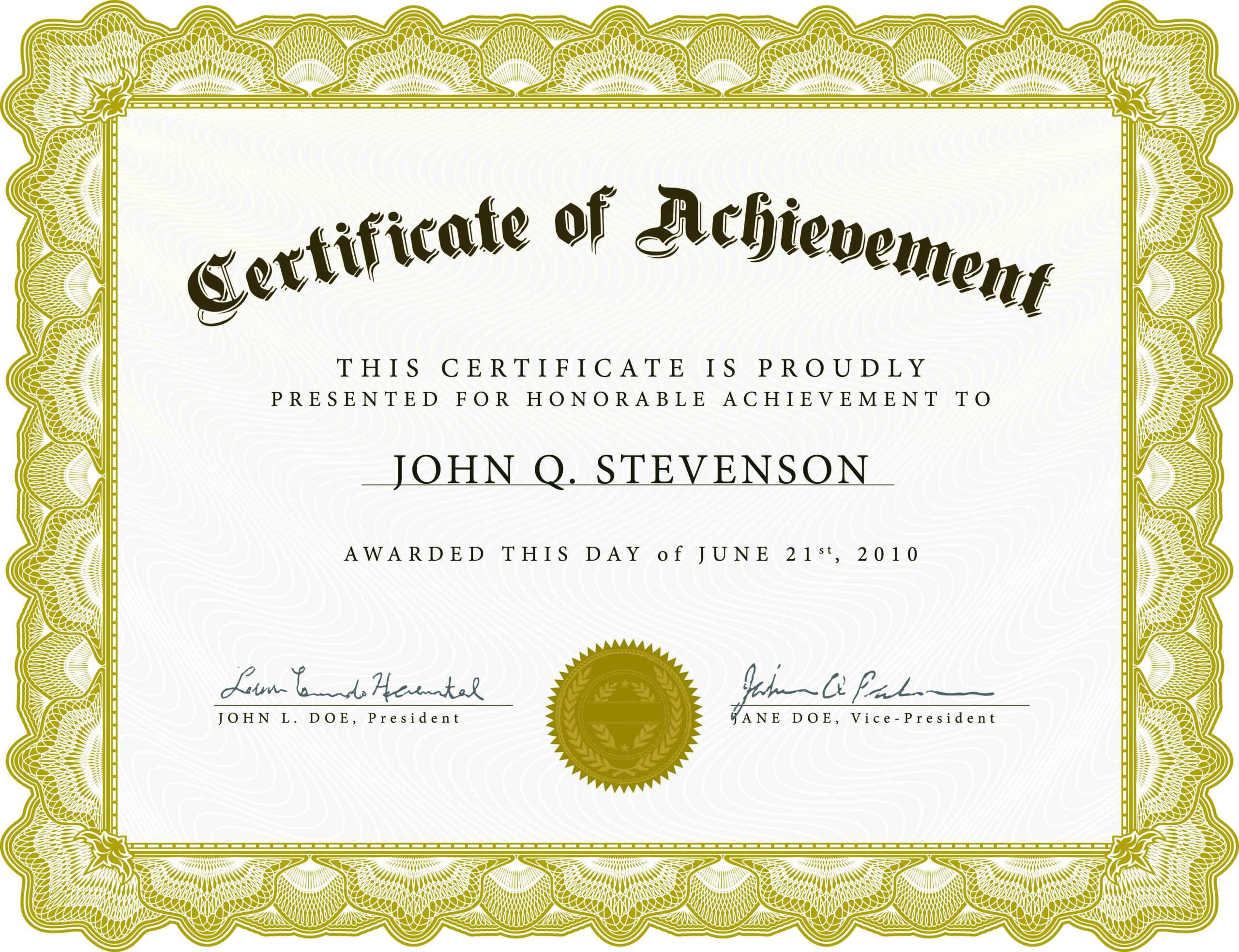 Gold-Banner-Award-Authority-Certificate-Template inside Certificate Authority Templates
