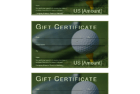 Golf Gift Certificate – Download This Free Printable Golf with regard to Golf Certificate Template Free