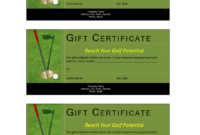 Golf Gift Non Cash Value Voucher – Download This Free inside Golf Certificate Template Free