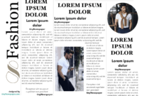 Google Docs Newspaper Template Newspaper Template For Google inside Newspaper Template For Powerpoint