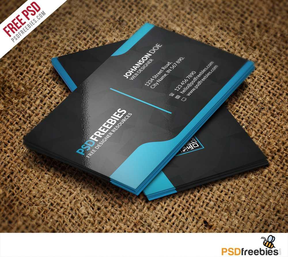 Graphic Designer Business Card Template Free Psd regarding Name Card Design Template Psd