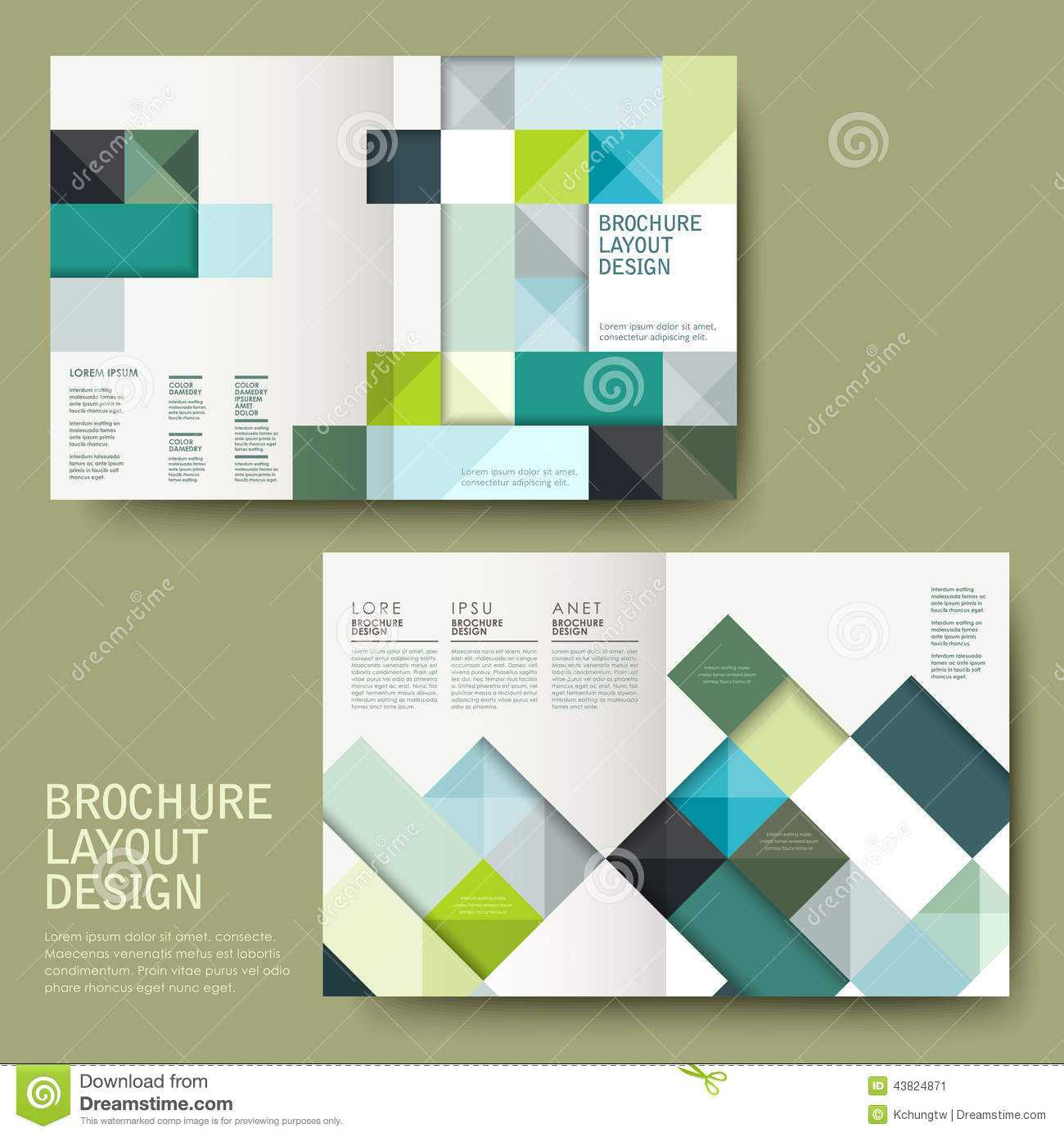Half Page Brochure - Template throughout Half Page Brochure Template