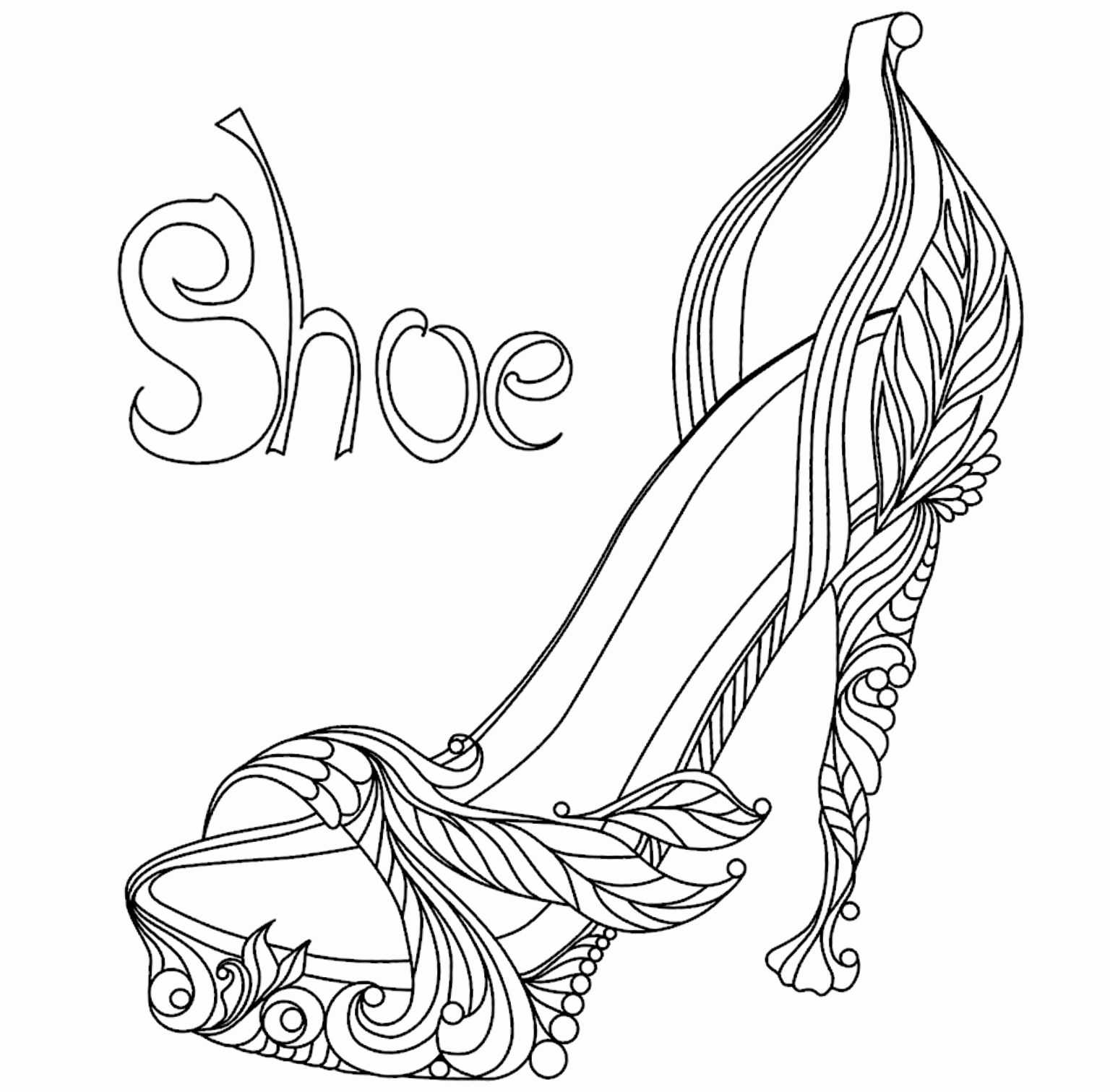 High Heel Drawing Template At Paintingvalley | Explore Regarding High Heel Template For Cards