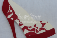 High Heel Shoe Card   Shoe Decor   Paper Shoes, Shoe regarding High Heel Shoe Template For Card