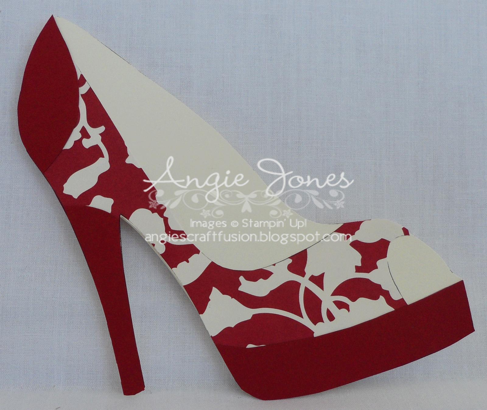 High Heel Shoe Card | Shoe Decor | Paper Shoes, Shoe Regarding High Heel Shoe Template For Card