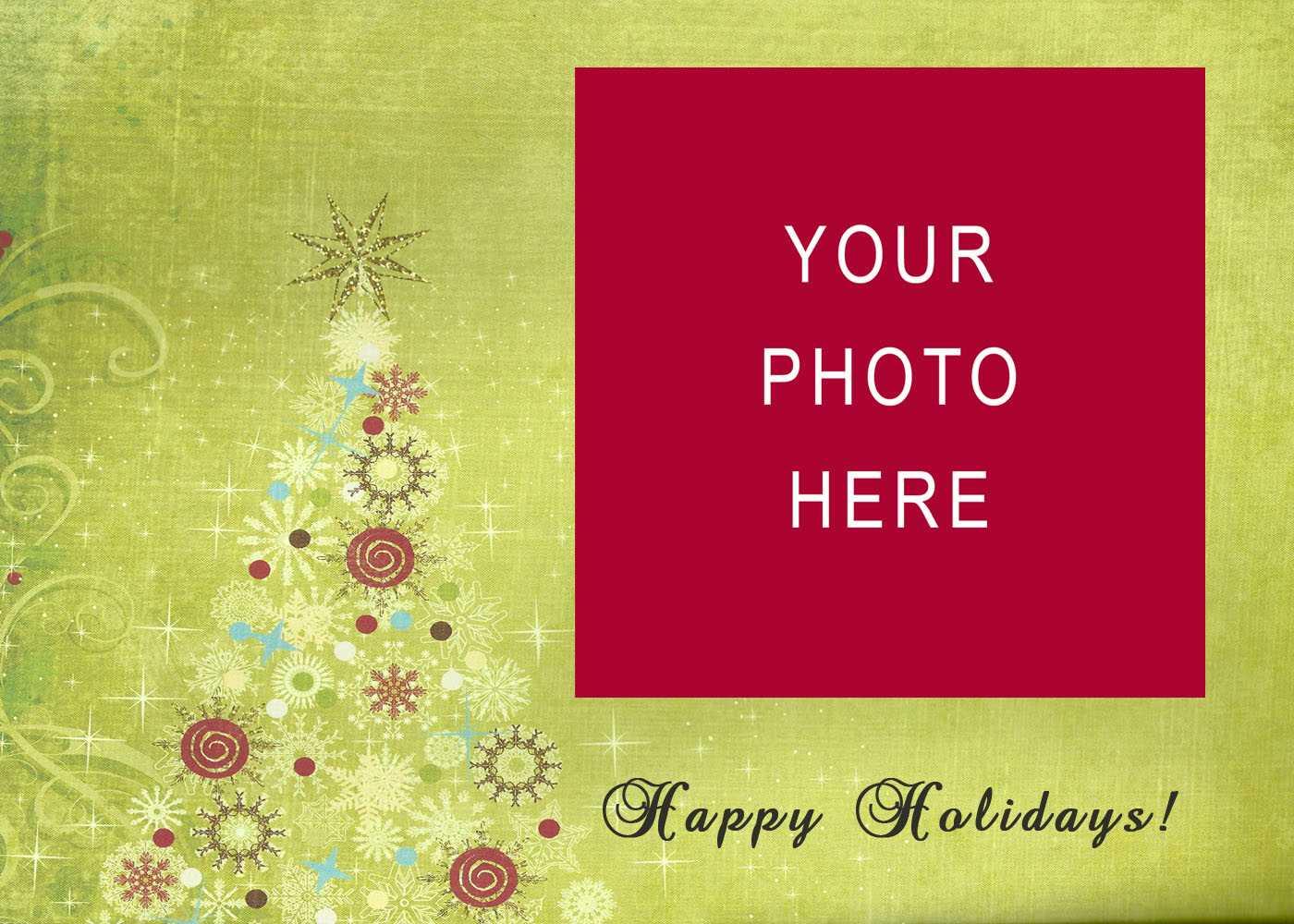 Holiday Card Templates | Madinbelgrade with regard to Free Holiday Photo Card Templates