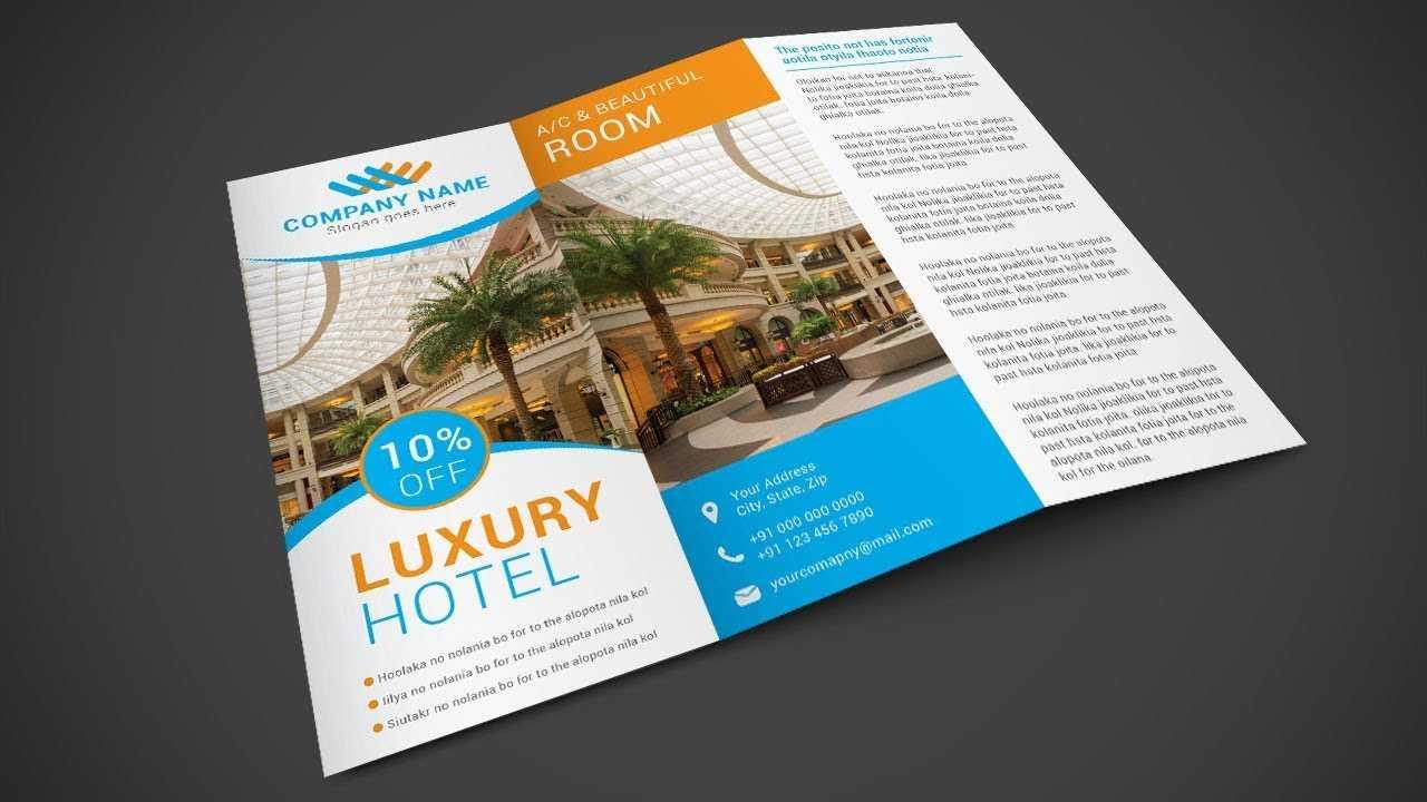 Hotel Brochure Design - Illustrator Tutorial inside Hotel Brochure Design Templates
