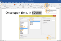 How To Create A Mail Merge Template Using Ms Word with How To Insert Template In Word