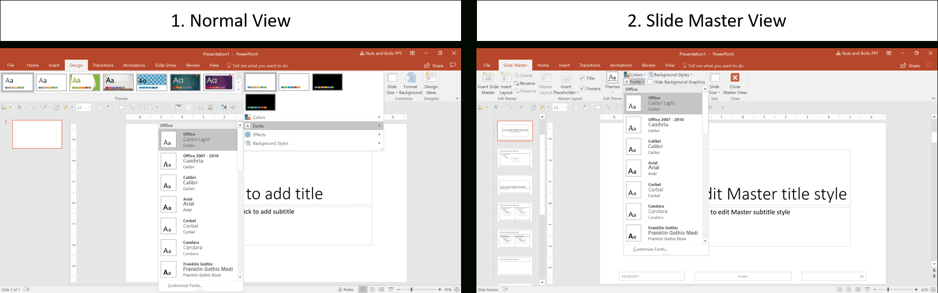 How To Create A Powerpoint Theme (Step-By-Step) in How To Edit A Powerpoint Template