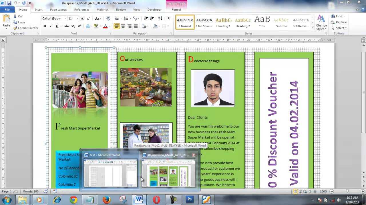 How To Create Brochure Using Microsoft Word Within Few Minutes inside Brochure Template On Microsoft Word