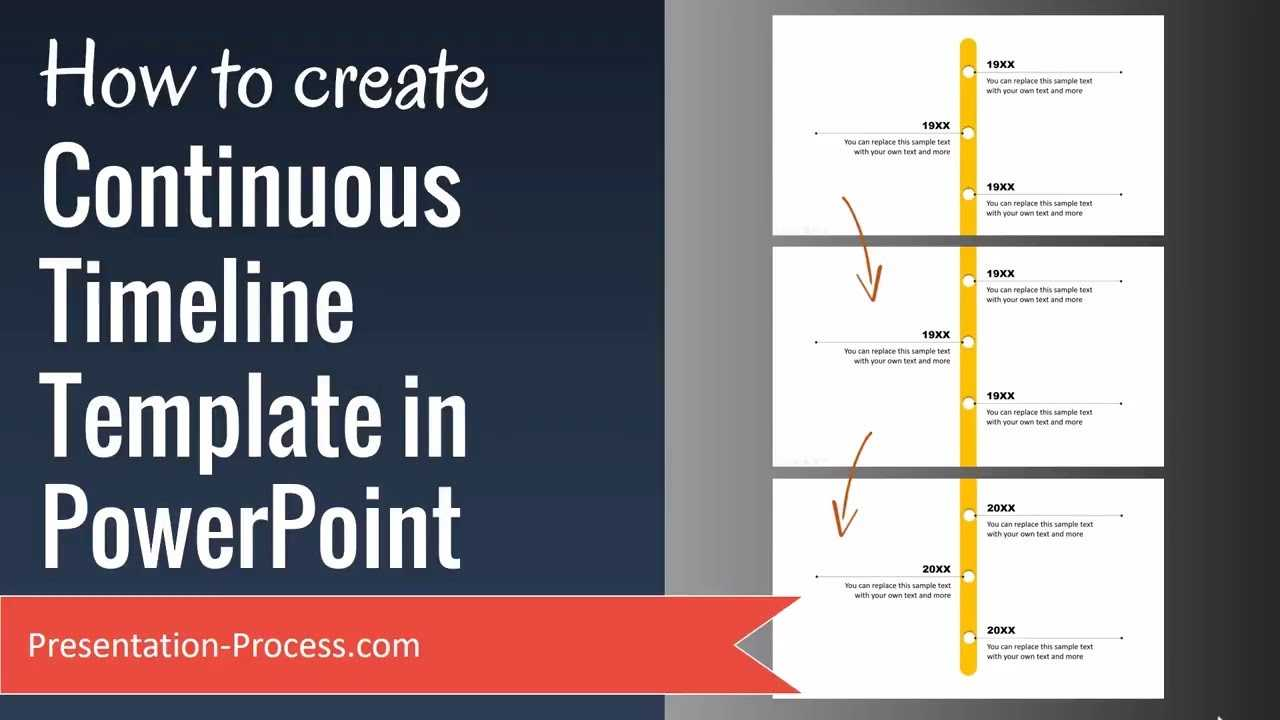 How To Create Continuous Timeline Template In Powerpoint pertaining to What Is A Template In Powerpoint