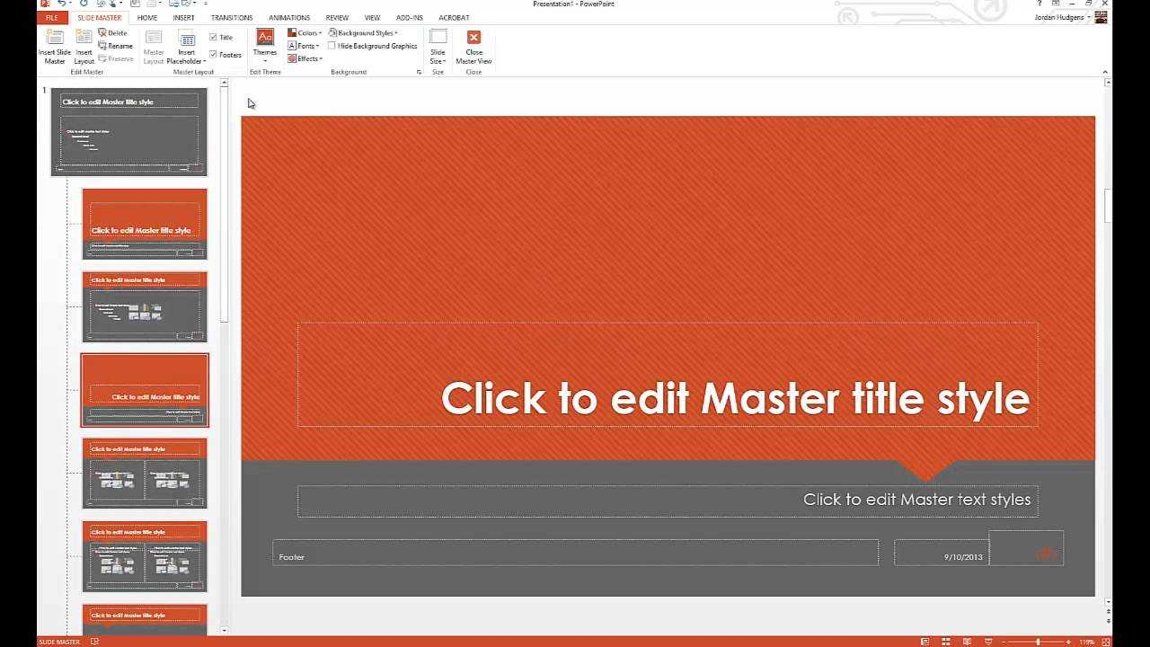 How To Customize Powerpoint Templates Inside How To Edit Powerpoint Template