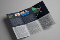 How To Design A Tri Fold Brochure Template – Photoshop Tutorial within Brochure Psd Template 3 Fold