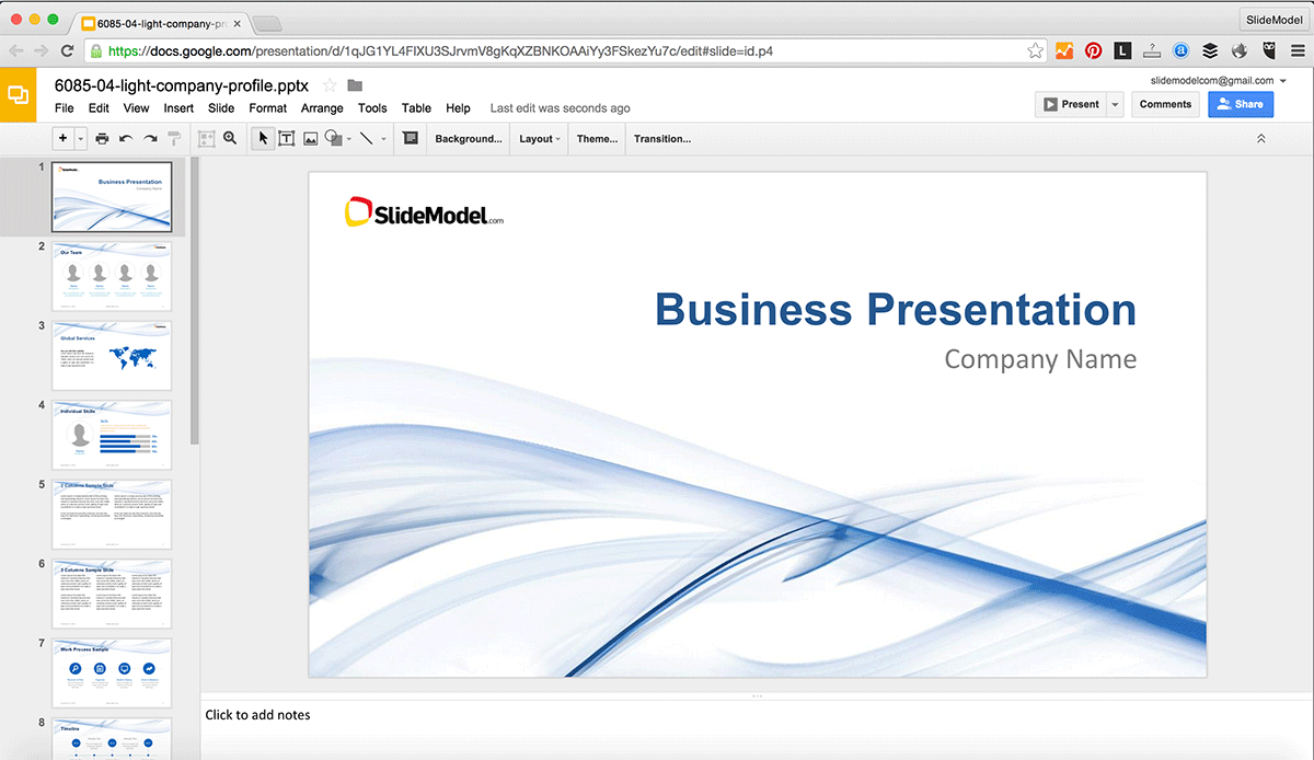 How To Edit Powerpoint Templates In Google Slides - Slidemodel within How To Edit A Powerpoint Template