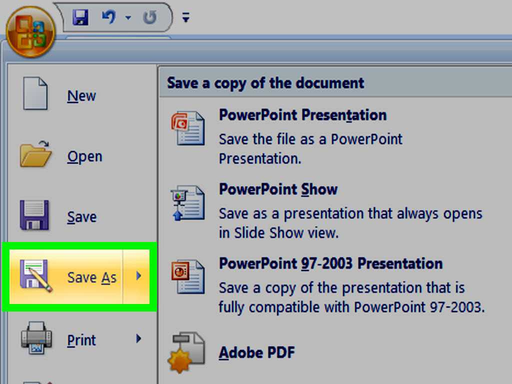 How To Make A Powerpoint Template: 12 Steps (With Pictures) Intended For How To Save Powerpoint Template
