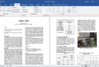 How To Prepare Research Paper For Publication In Ms Word (Easy) with Scientific Paper Template Word 2010