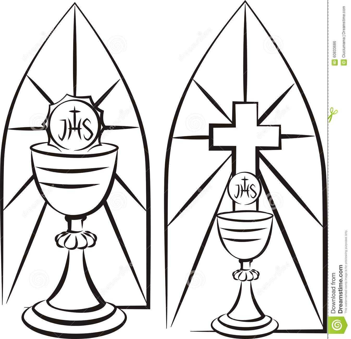 Image Result For Stain Glass First Communion Banner Template Within First Holy Communion Banner Templates