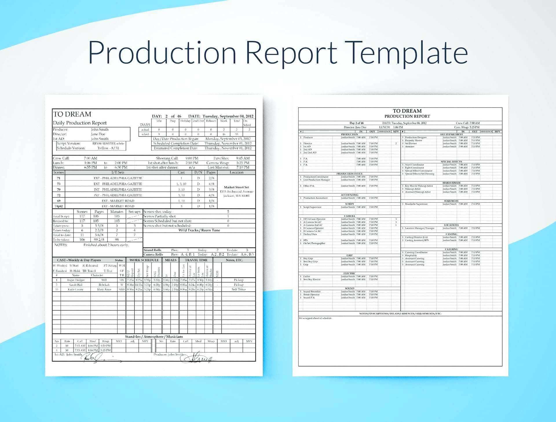 Infant Daily Report Template – Wovensheet.co with Sound Report Template
