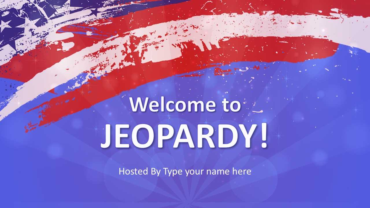 Jeopardy Game Powerpoint Templates inside Powerpoint Template Games For Education
