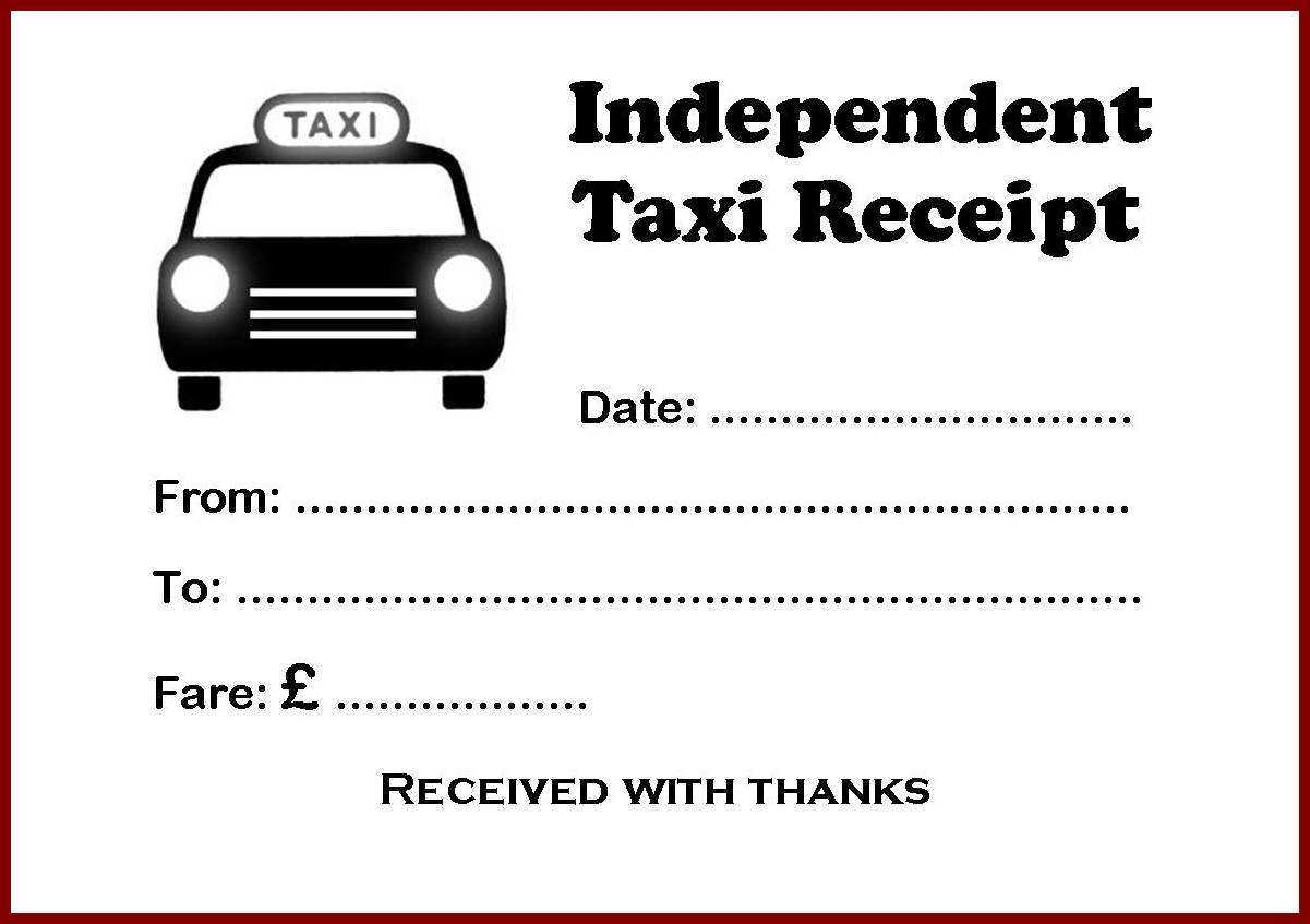 Jkl Taxi Invoice Sample - Id146588 Opendata throughout Blank Taxi Receipt Template