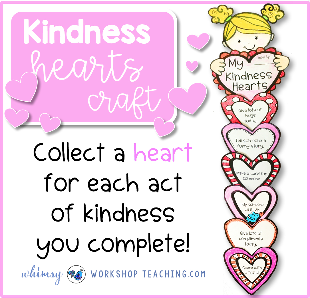 Kindness In The Classroom - Whimsy Workshop Teaching intended for Random Acts Of Kindness Cards Templates
