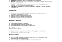Lab Report Format Doc | Lab Report, Lab Report Template within Science Lab Report Template