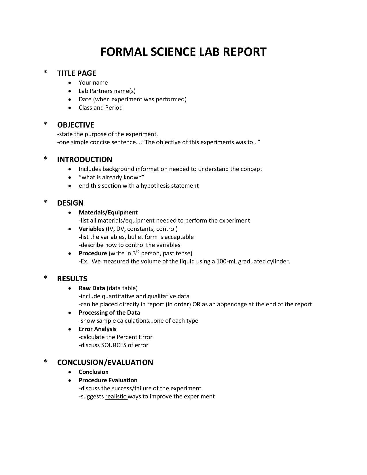 Lab Report Order Buy An Essay Paper With Science Lab Report Template