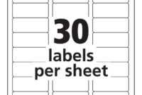 Label Template 21 Per Sheet Word – Atlantaauctionco for Label Template 21 Per Sheet Word