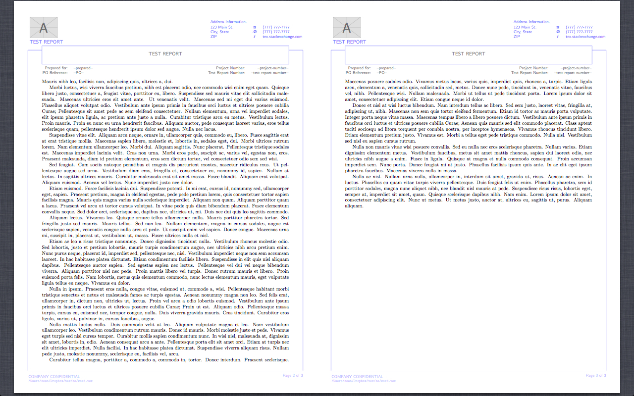 Latex Technical Report Template - Atlantaauctionco Pertaining To Latex Template For Report