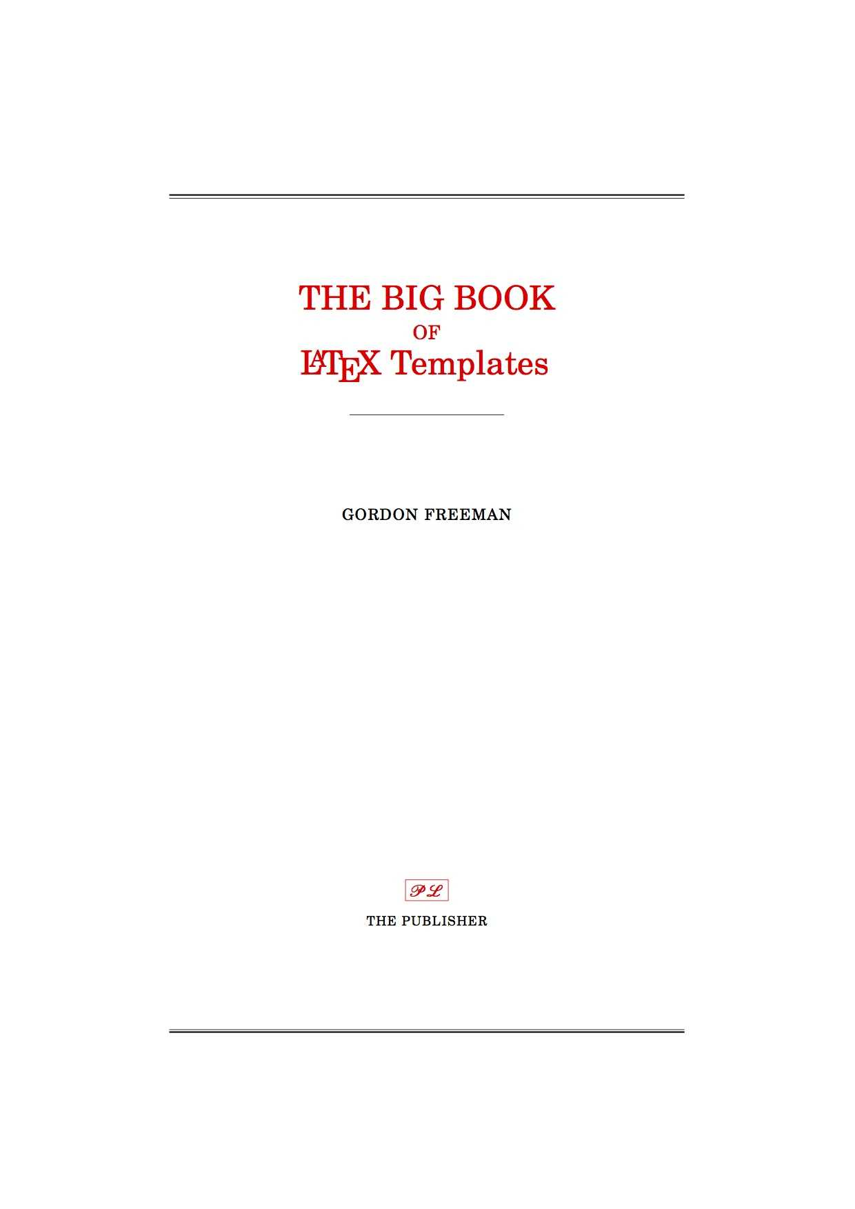 Latex Templates » Title Pages throughout Project Report Latex Template