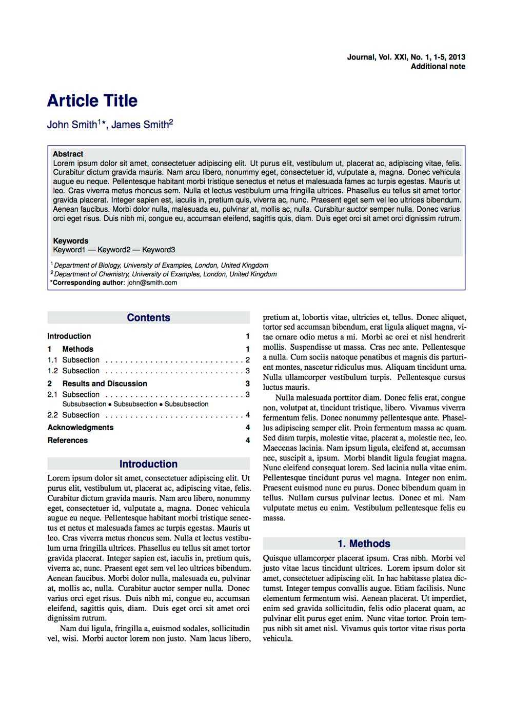 Latex Typesetting - Showcase inside Project Report Latex Template