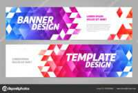 Layout Banner Template Design For Sport Event 2019 — Stock Regarding Sports Banner Templates
