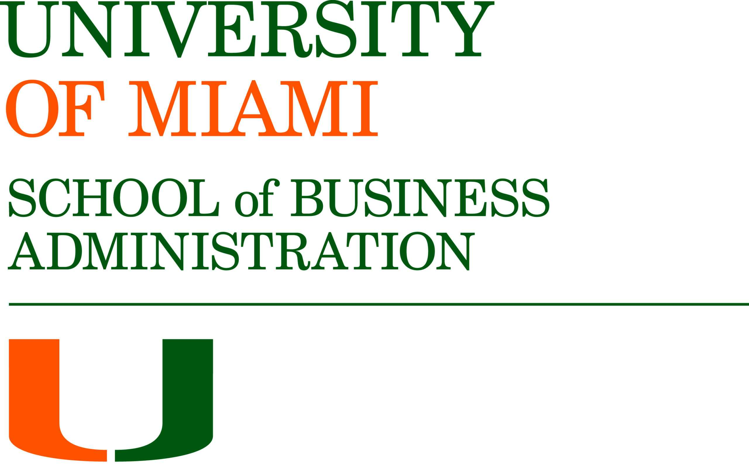 Logos And Templates : University Of Miami School Of Business inside University Of Miami Powerpoint Template
