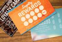 Loyalty Card Templates Mockup #organised#text#image#easy within Loyalty Card Design Template
