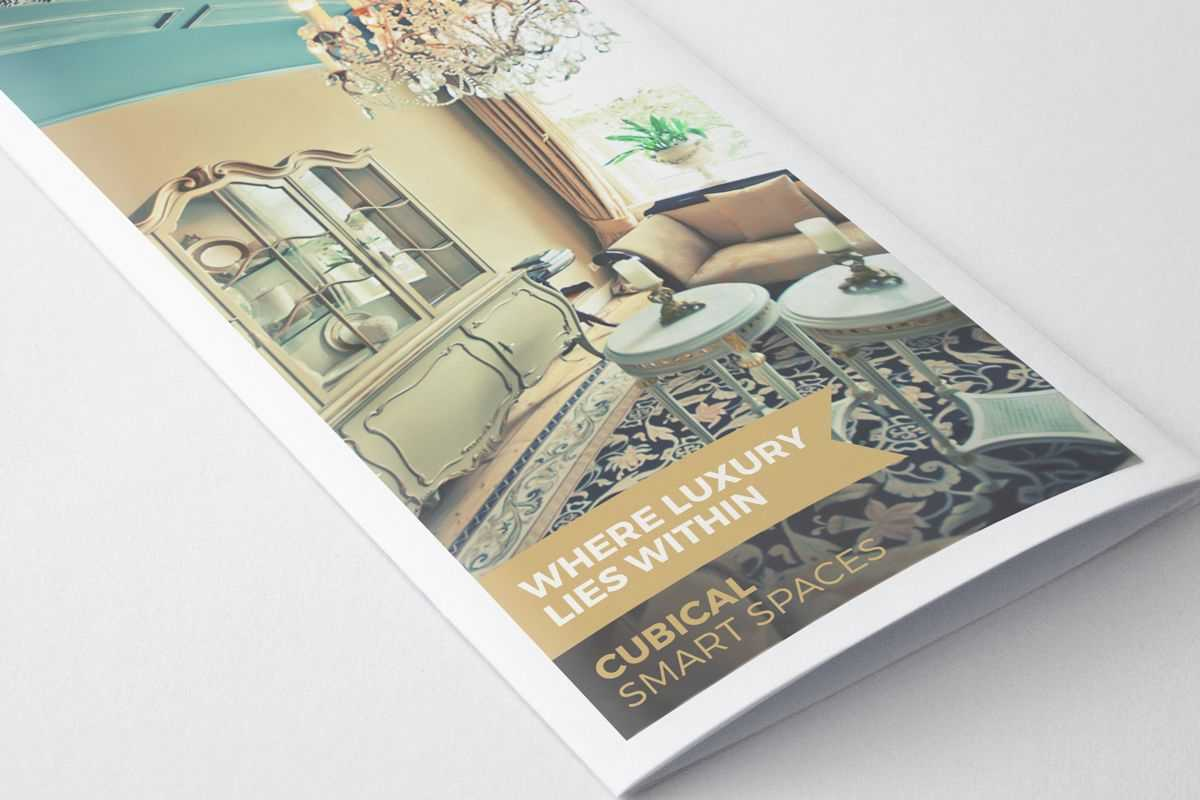 Luxurious Hotel Pamphlet Design Template | Pamphlet Design inside Hotel Brochure Design Templates