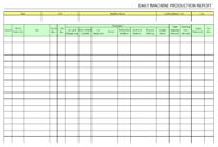 Machine Breakdown Report Template - Atlantaauctionco throughout Machine Breakdown Report Template