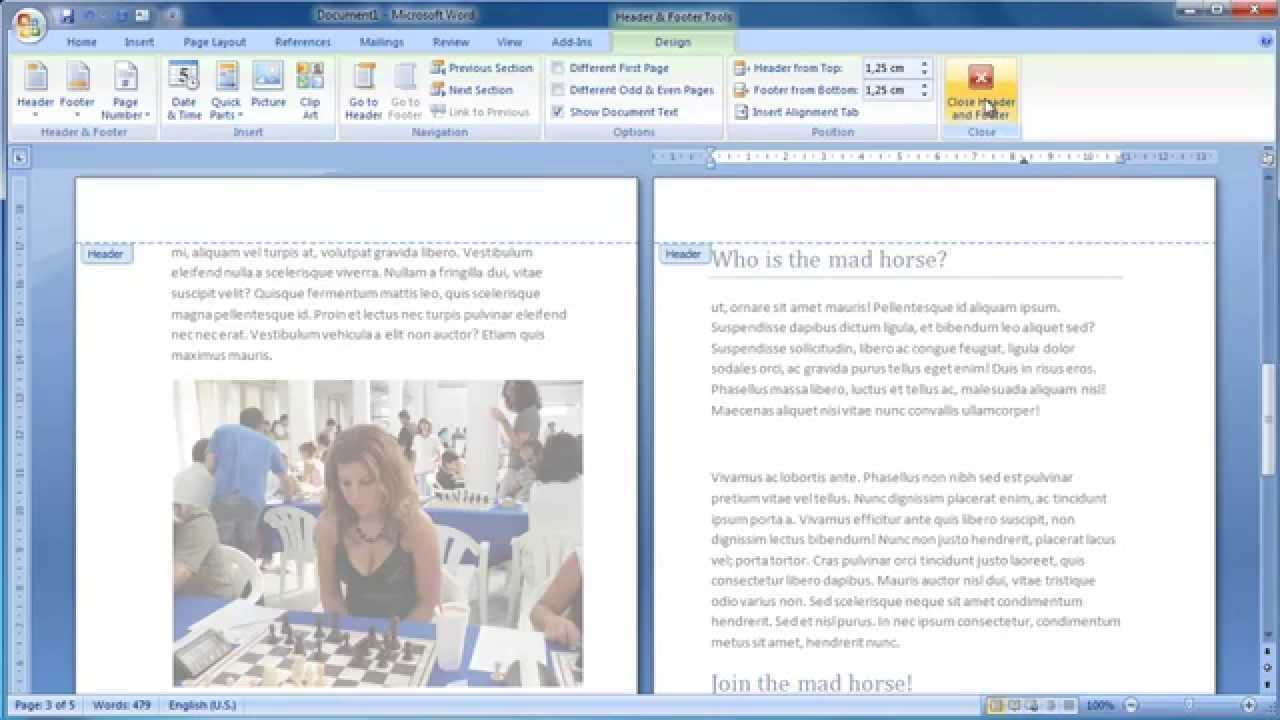 Make A Booklet From Scratch In Word 2007 In Booklet Template Microsoft Word 2007